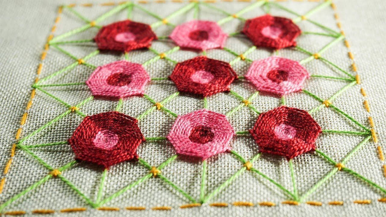 Easy hand embroidery designs by diy stitching youtube sew