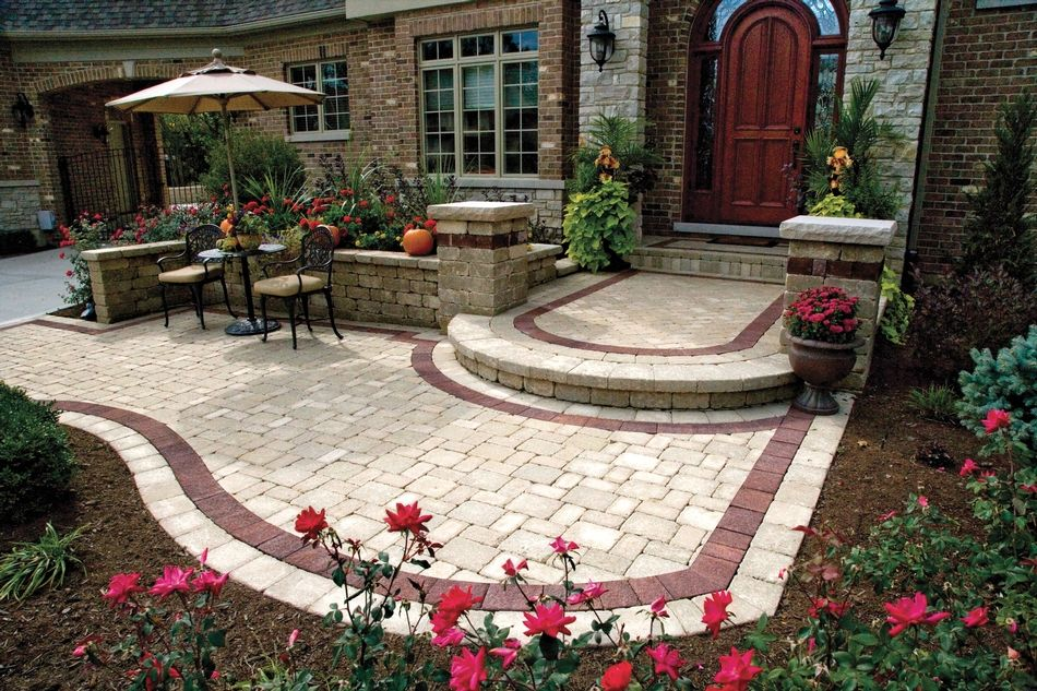 Brussels Block Tumbled Landscaping Paver, Patio Paver ...
