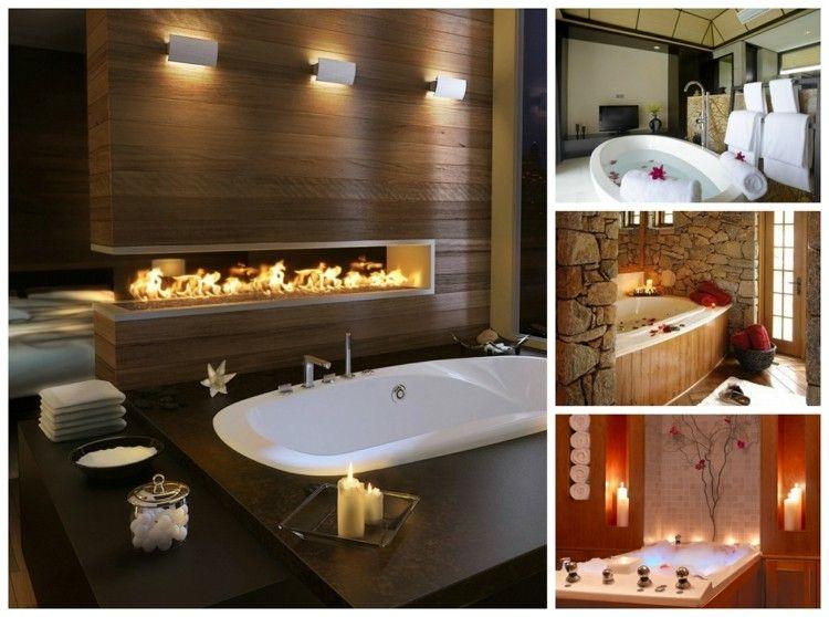 Salle De Bain Romantique Belles Idées De Déco Salle De Bain - Comment faire une salle de bain