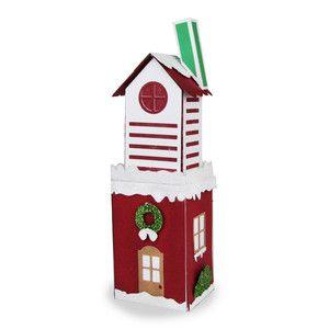 Silhouette Design Store - View Design #157198: santa's glitter village - santa's tower