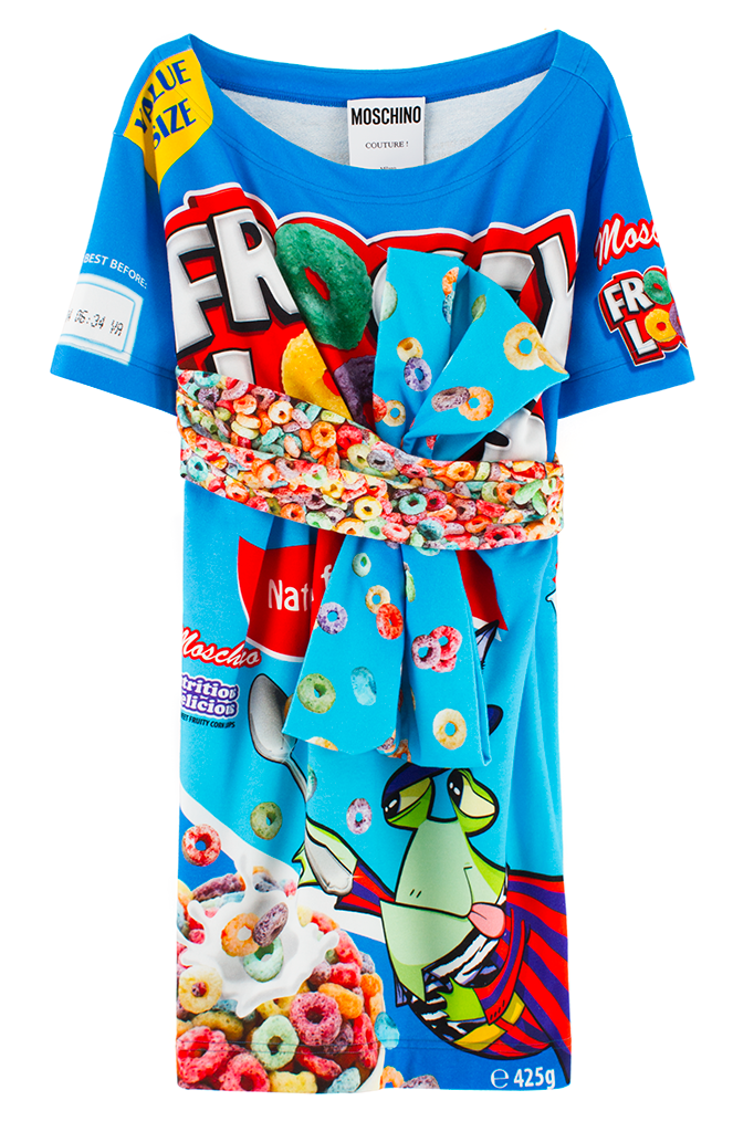 3abf808a1396 MOSCHINO CEREAL T-SHIRT DRESS | Holiday Gift Guide | Gurls in 2019 ...