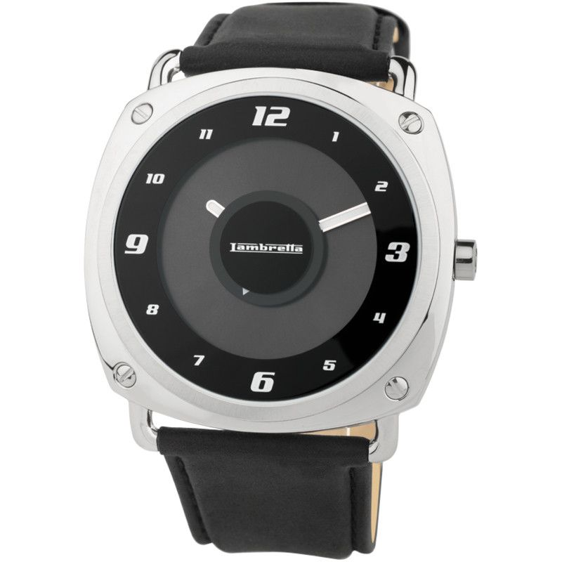 Lambretta Brunori Watch | Leather Black 2074BLA