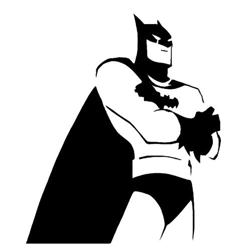Batman die cut vinyl decal pv734 superheroes pinterest batman stencil template by lorraine pronofoot35fo Gallery