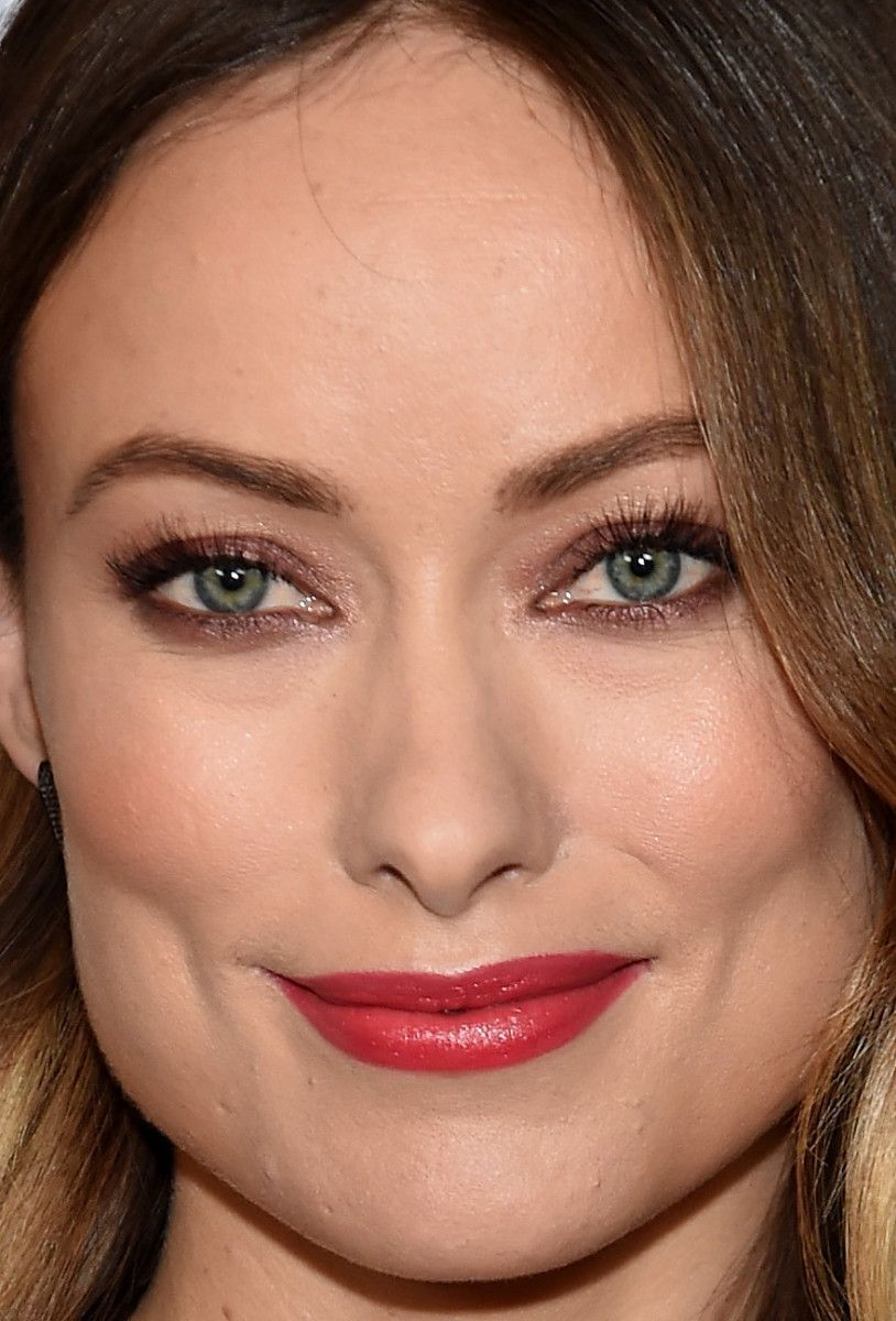 Closeup of Olivia Wilde at the 2016 New York premiere of