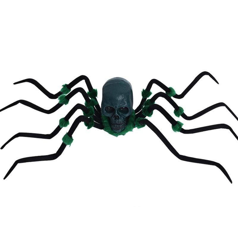 Halloween Sound Control Plush Spider Halloween Props Spider Funny - giant spider halloween decoration