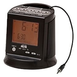 Hamilton Beach Alarm Clock Radio Compatible With Any Mp3 Player