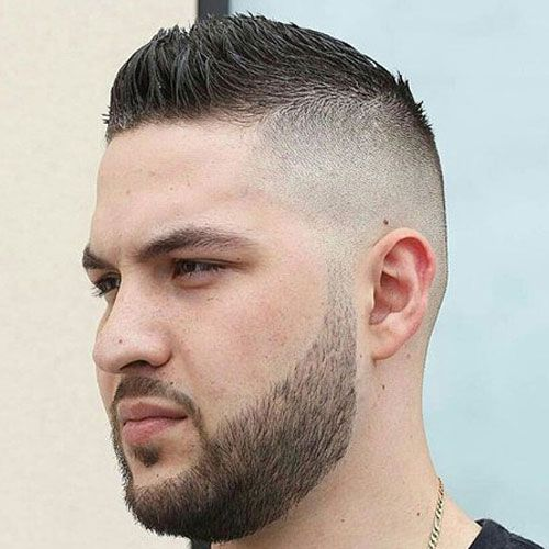 Perfect Faux Hawk Taper Fade