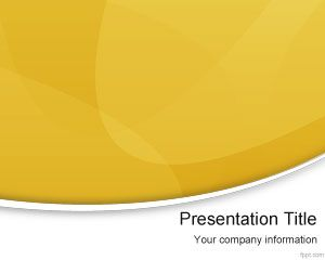 Free yellow modern powerpoint template is a free simple background free yellow modern powerpoint template is a free simple background template for presentations that you can toneelgroepblik Image collections