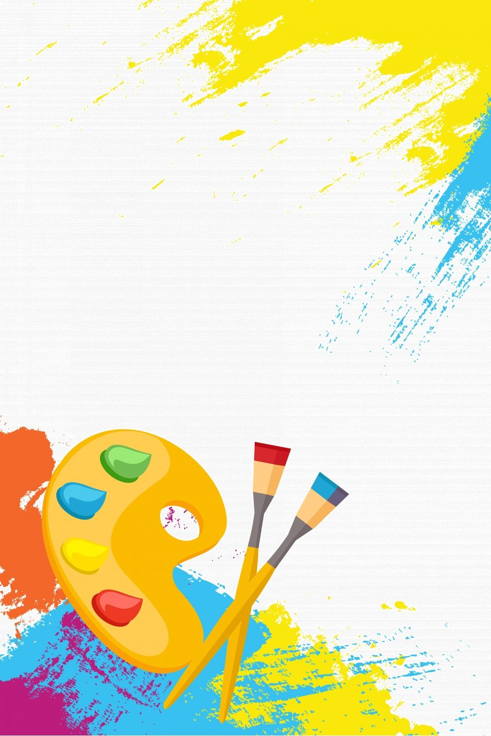 Painting Class Art Class Admission Poster Background Material Art Class Posters Class Poster Design Art Drawings For Kids