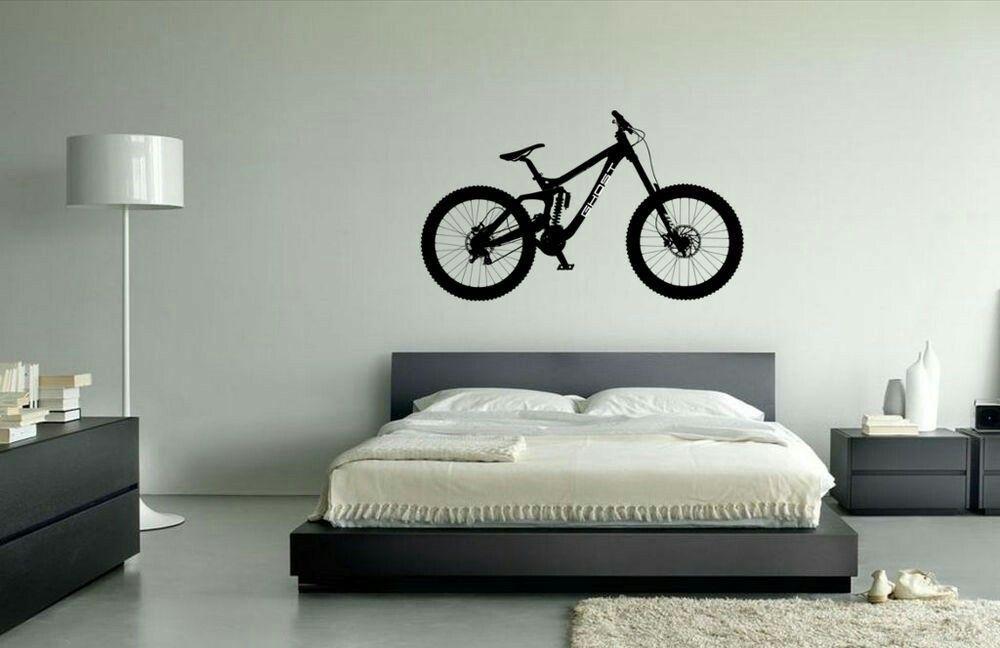 Mtb Bedroom Tricyclephotography Vinyl Wall Art Mountain Bike