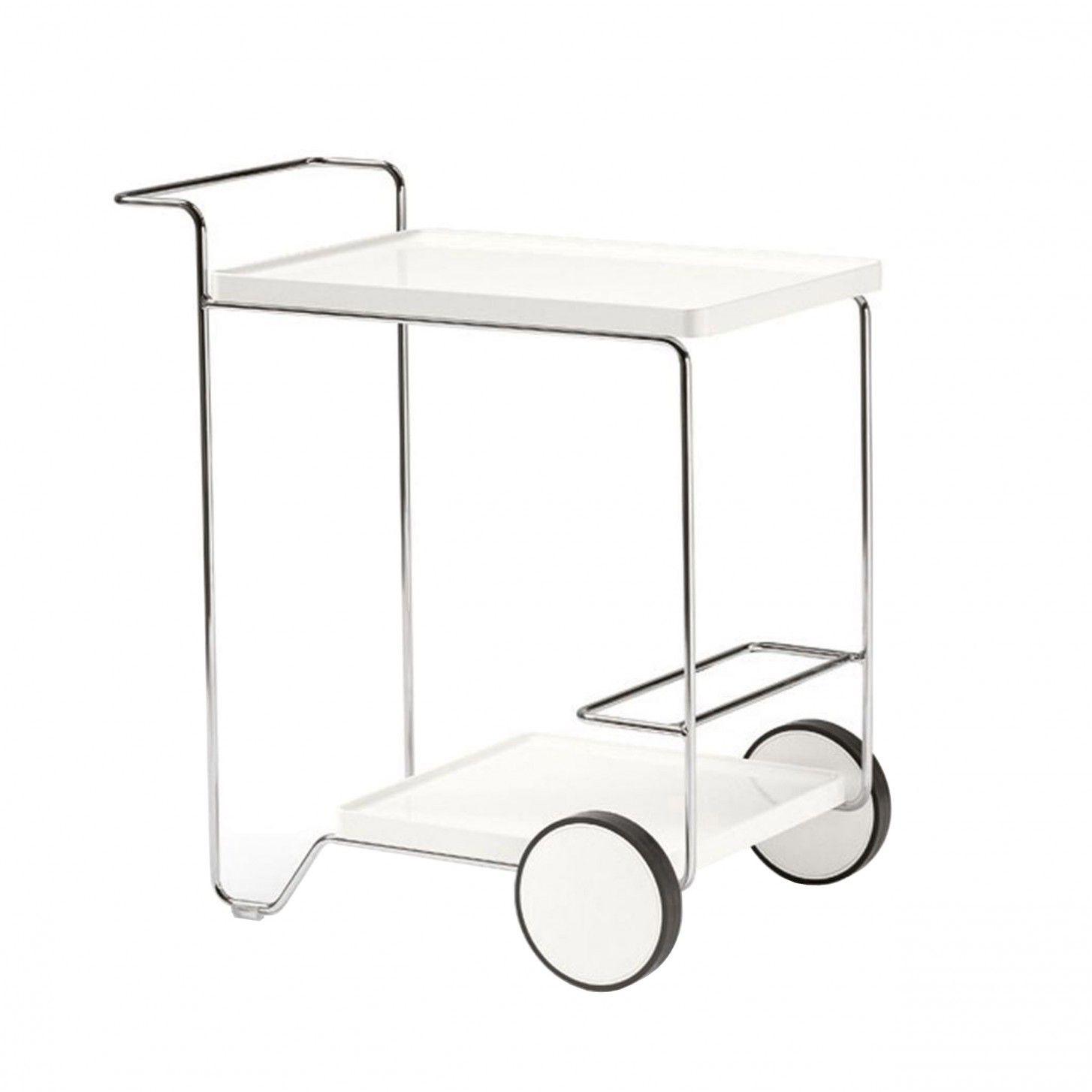 Tray Roller Beistellwagen Von Calligaris Bei
