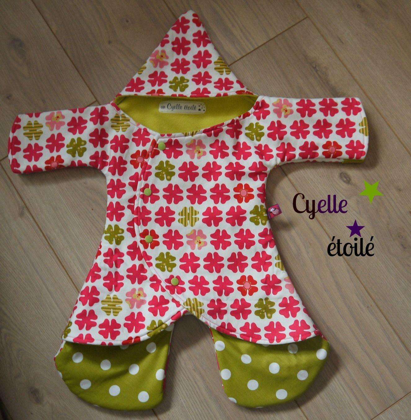 couverture enveloppante pour bébé Kallounette à fleurs, couverture enveloppante pour bébé | enfant  couverture enveloppante pour bébé