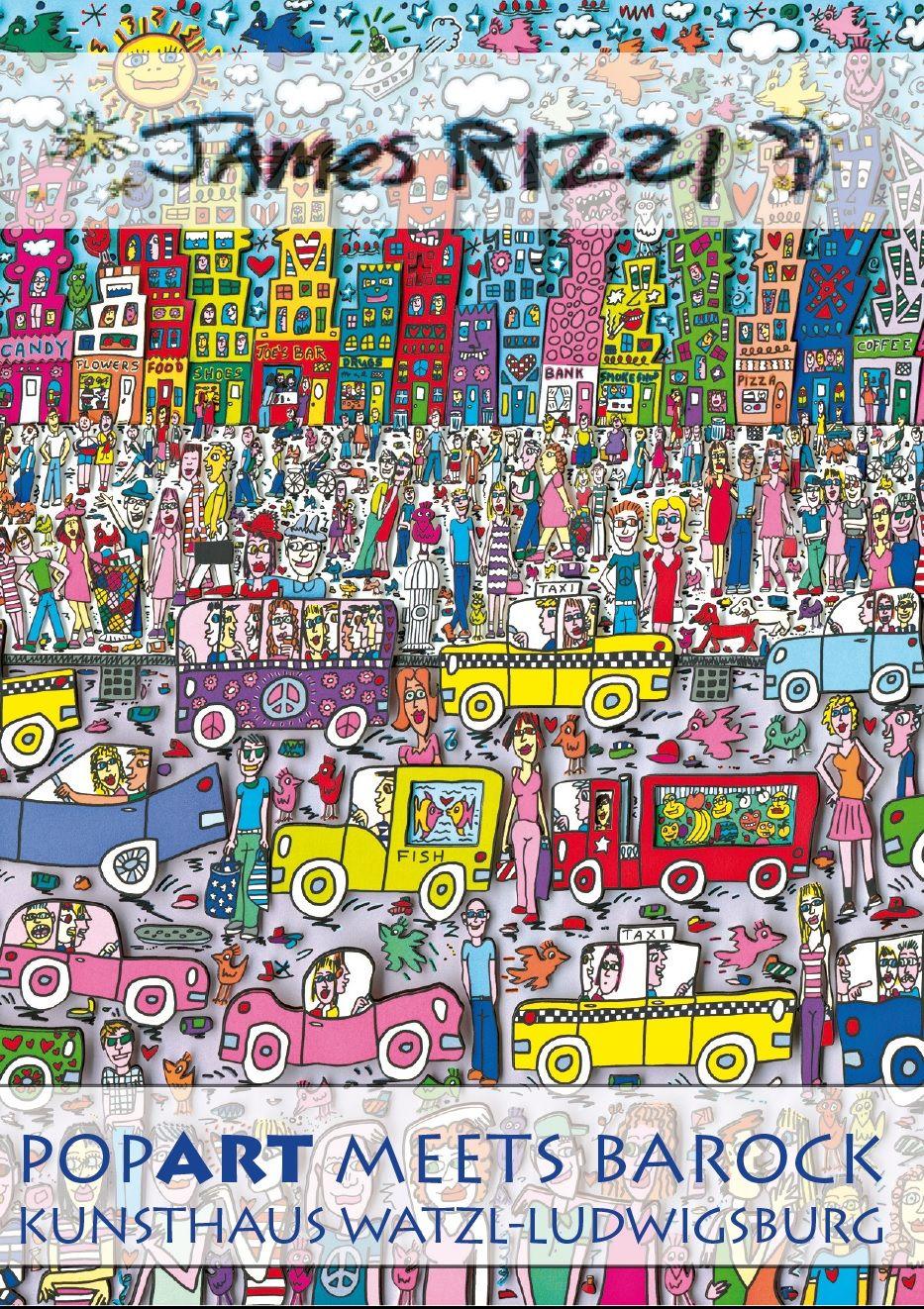 Die Offizielle Website Von James Rizzi Kunstunterricht Grundschule Kunstideen Kunstler