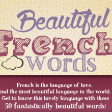When you think of speaking French, what comes to mind? If you're picturing candlelit dinners, incredible art, and grand romance, you're not alone. French is known as the language of love, and just about everything in French sounds lovely. To celebrate the beauty of the... #frenchfun #learningfrench