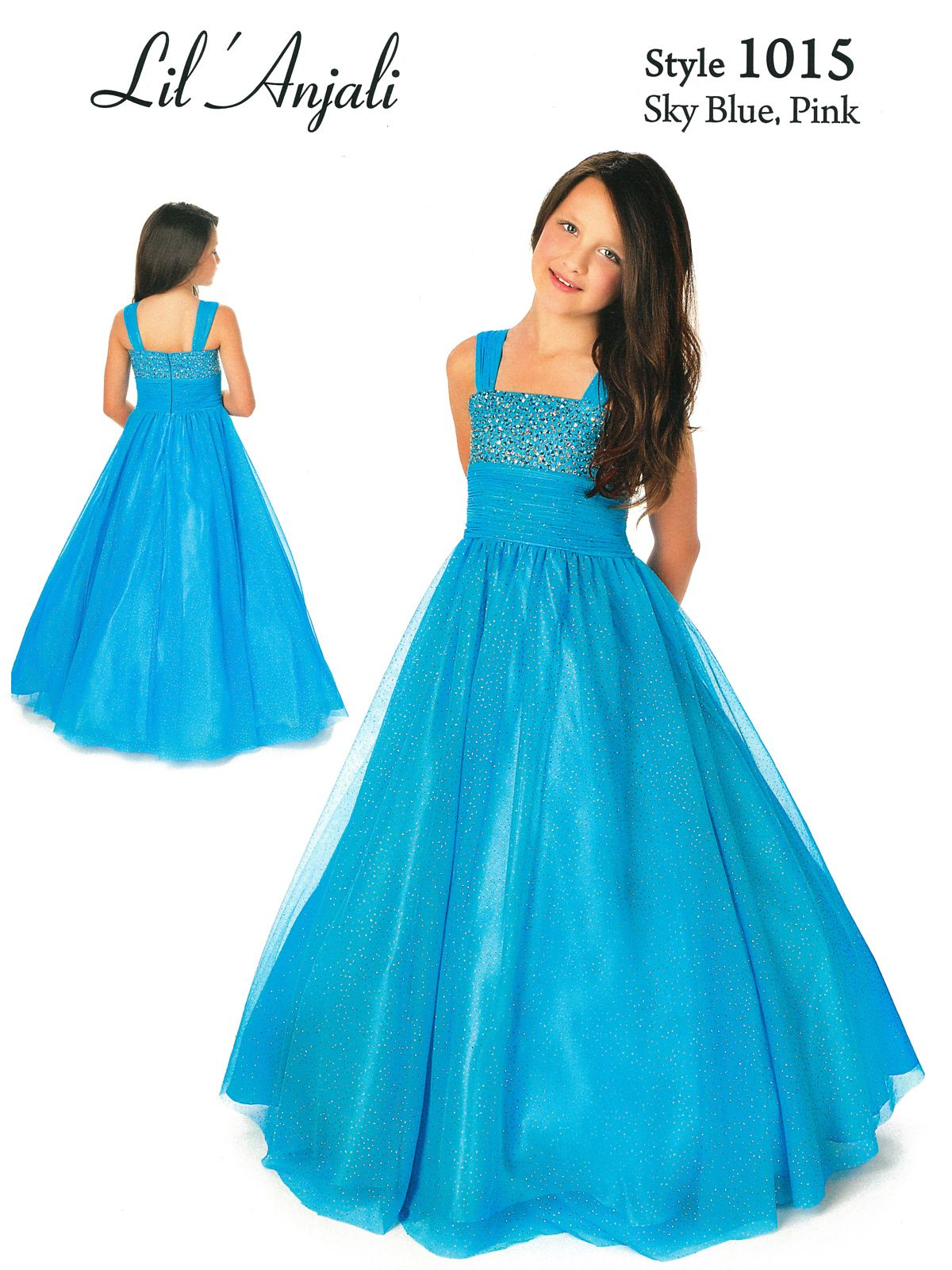 Girls Formal Dresses Clearance | ... Girls Pageant Dress Style 1015 ...