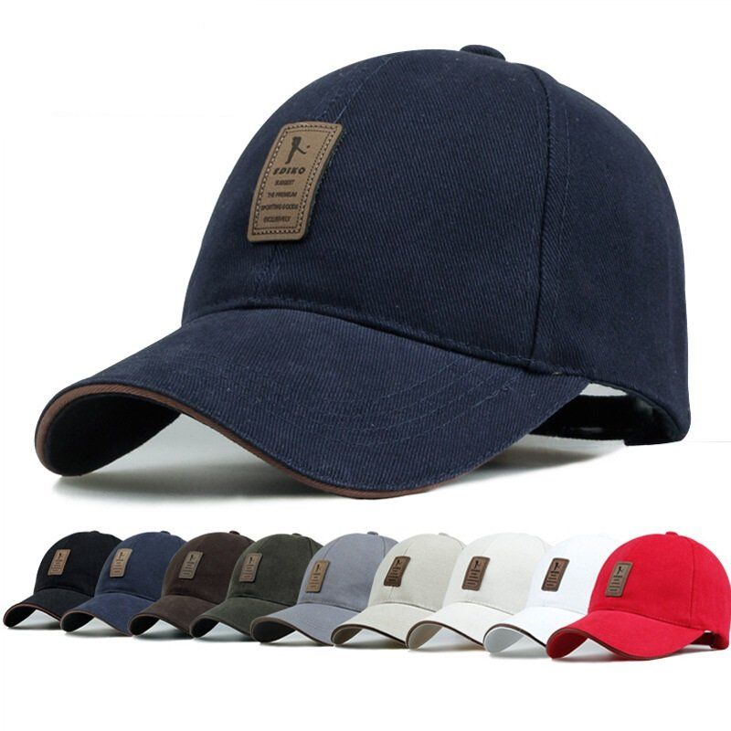 118dbafb5df Unisex Men Women Cotton Blend Baseball Cap Hip Hop Adjustable Snapback Golf  Outdoor Hat at Banggood