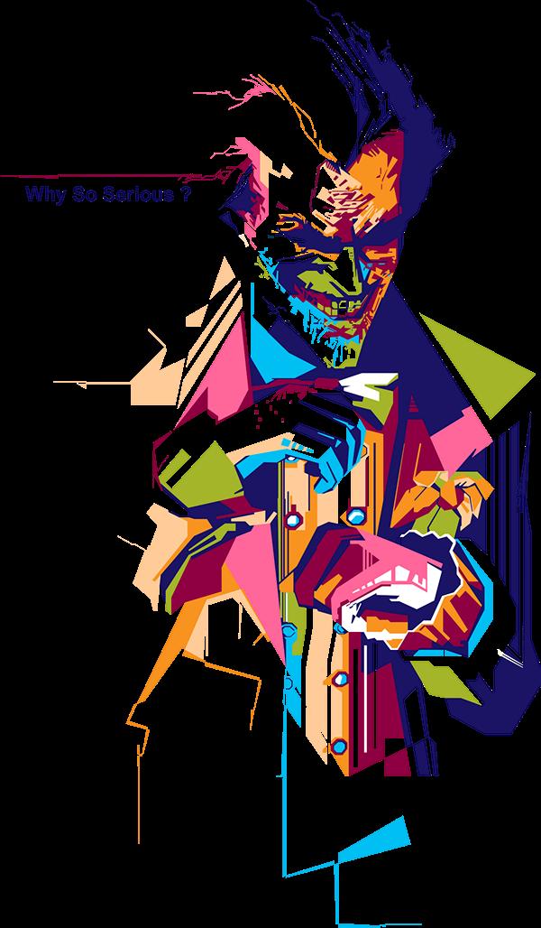 Why So Serious On Behance Joker Drawings Joker Art Joker Artwork