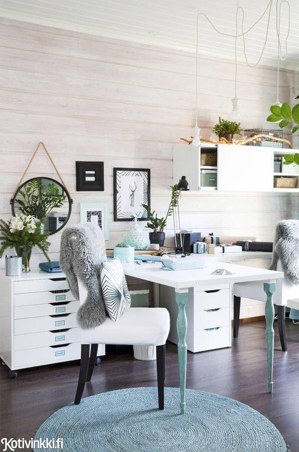 Aivan ihana työhuone #kotivinkki