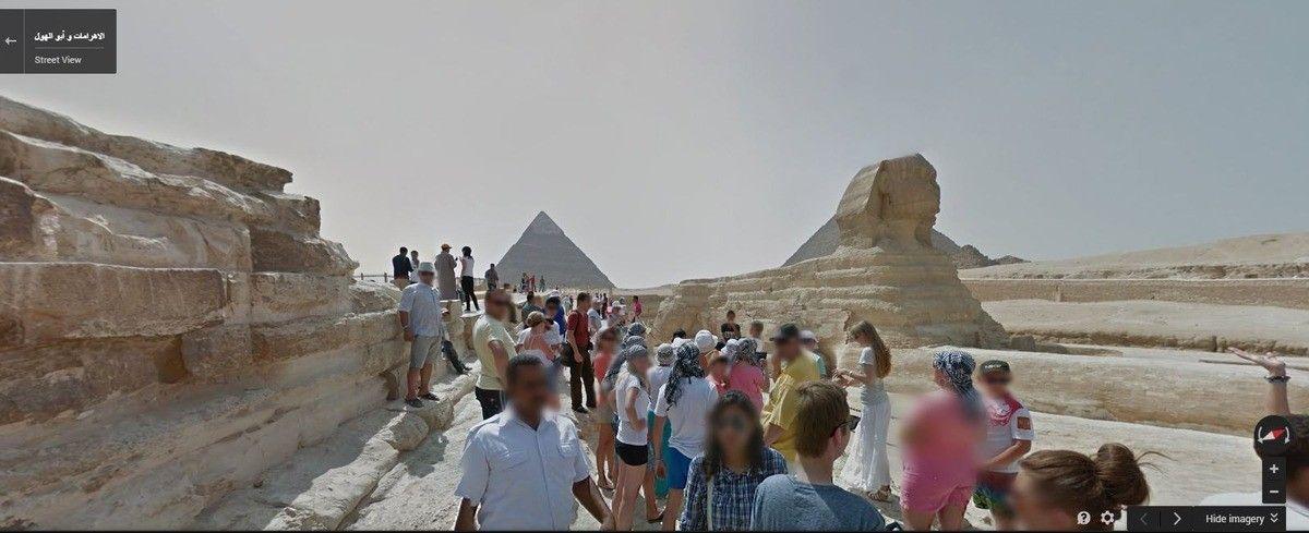 Faça um tour virtual pelas pirâmides egípcias