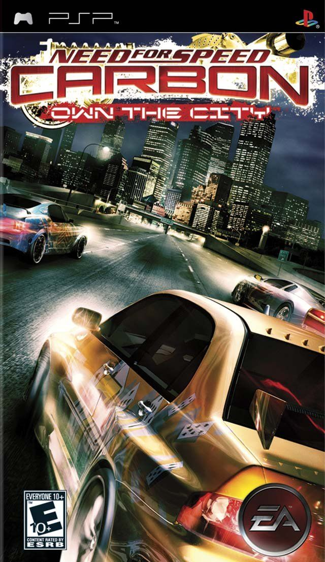 Need For Speed Carbon Own The City Psp Default Title Need For Speed Carbon Need For Speed Psp