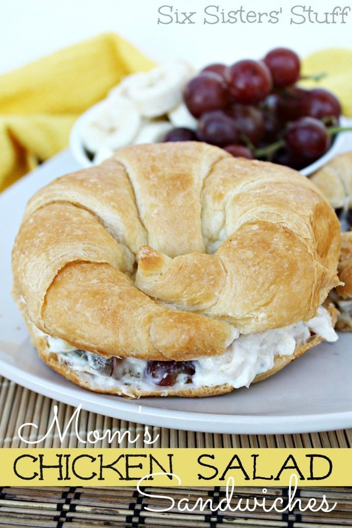 Mamas Chicken Salad Sandwiches   - Sandwich and Wrap -
