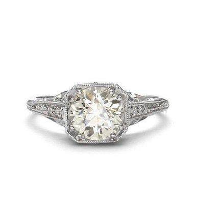 Photo of Replica art deco engagement ring #L3276