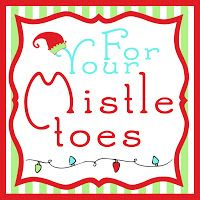 image about For Your Mistletoes Printable identify Remaining Instant Xmas Items for Solution Santa~ \