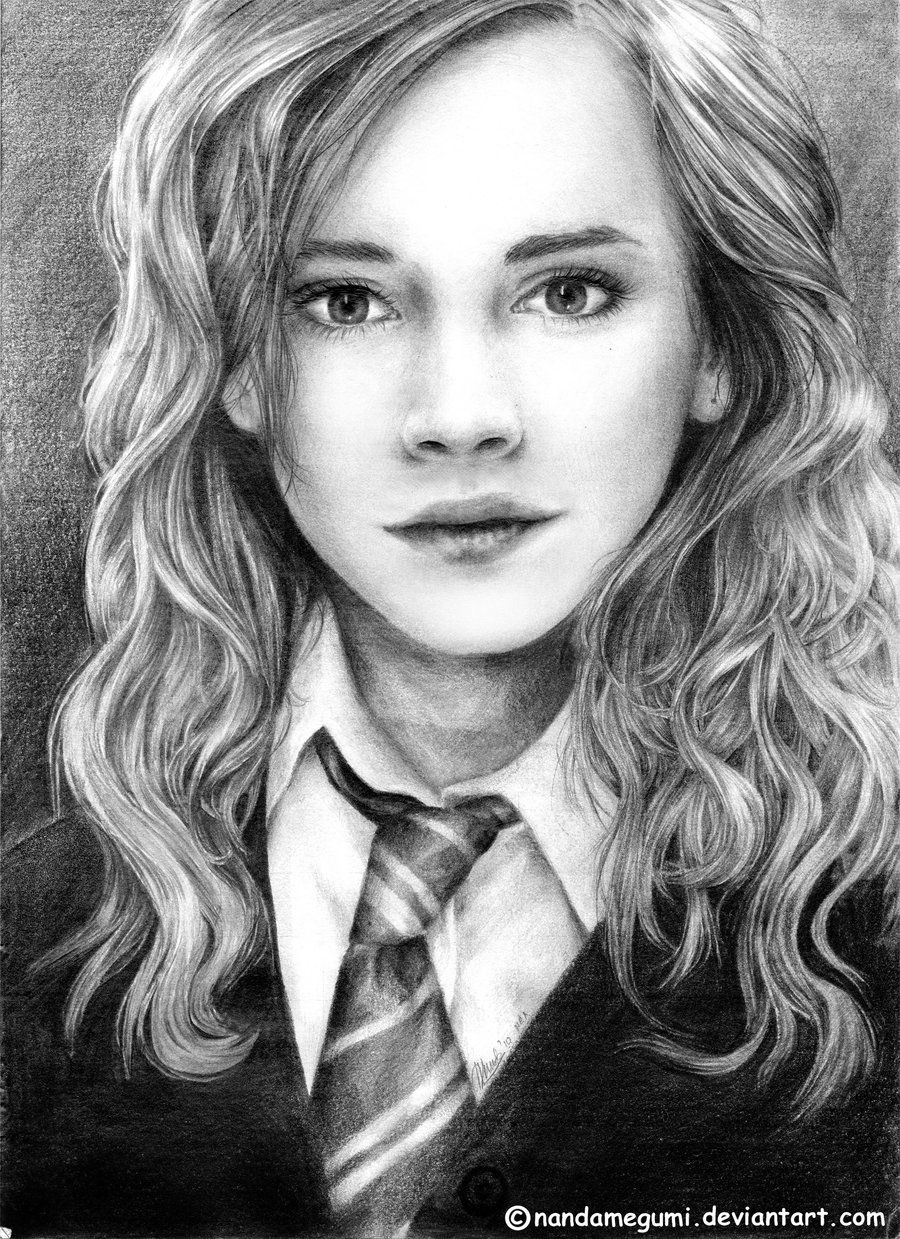 Pencil drawings of luna lovegood hermione granger sketch harry potter series pinterest - Luna lovegood and hermione granger ...