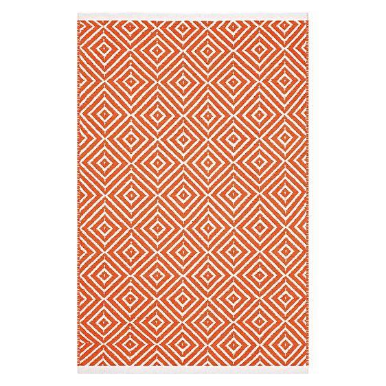 Kimberley Diamond Cotton Rug by FAB Rugs - cheap and cheerful coffee table rug