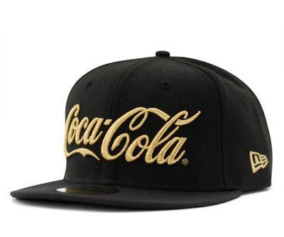 12b5feb9a7927e New Era 59 Fifty Coca Cola Black x Gold Cap Best Buy from Japan New | eBay