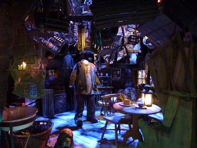 Hagrid S Hut Harry Potter Tour Warner Bros Studios Leavesden London Hagrids Hut Harry Potter Tour Harry Potter Studio Tour