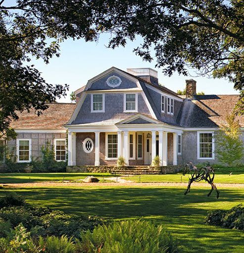Nest By Tamara S Why In Design Column The History Beauty Of Gambrel Roofs In Architecture Shingle Style Homes Gambrel Style Shingle House
