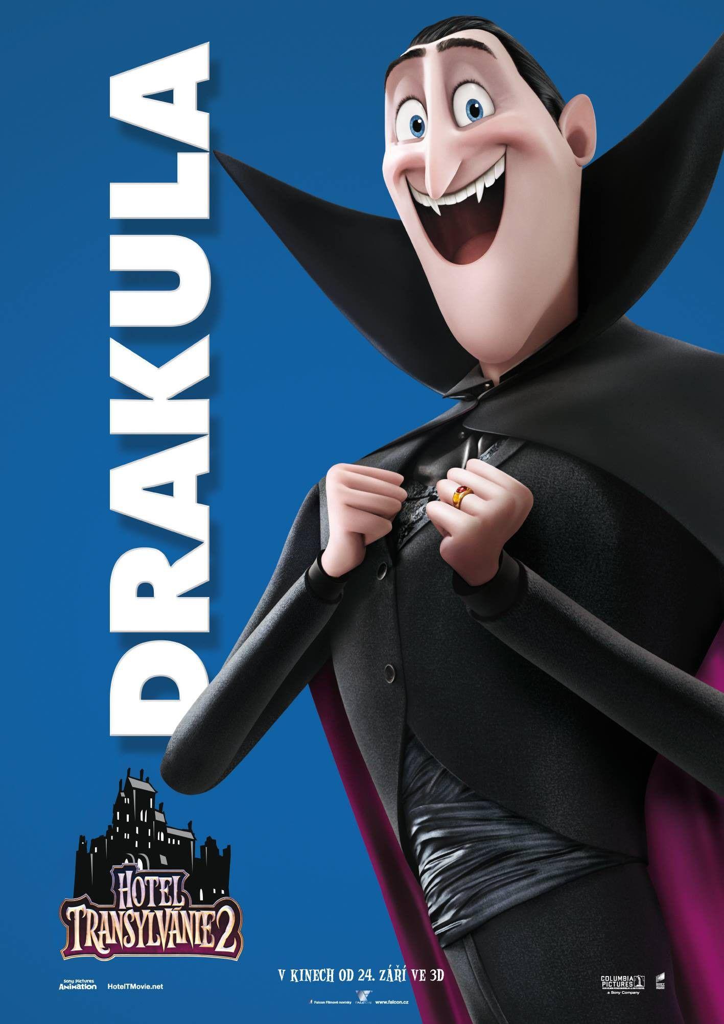 Hotel Transylvania 2 Individual Posters Tags Dracula 3d