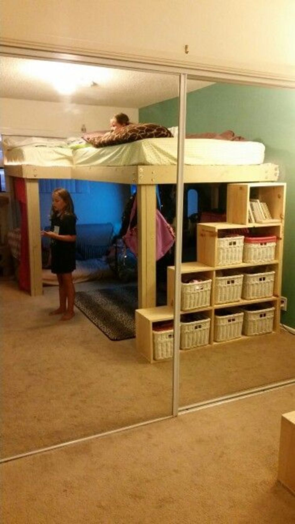 Awesome Cool Loft Bed Design Ideas and Inspirations 61 in