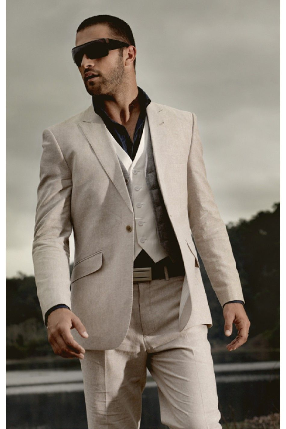 Linen/Cotton Slim Fit Suit | Wedding Suits | Pinterest | Slim fit ...