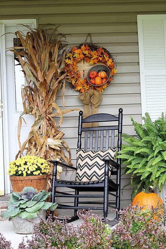 Decorate the autumn porch #herbstlicheaußendeko