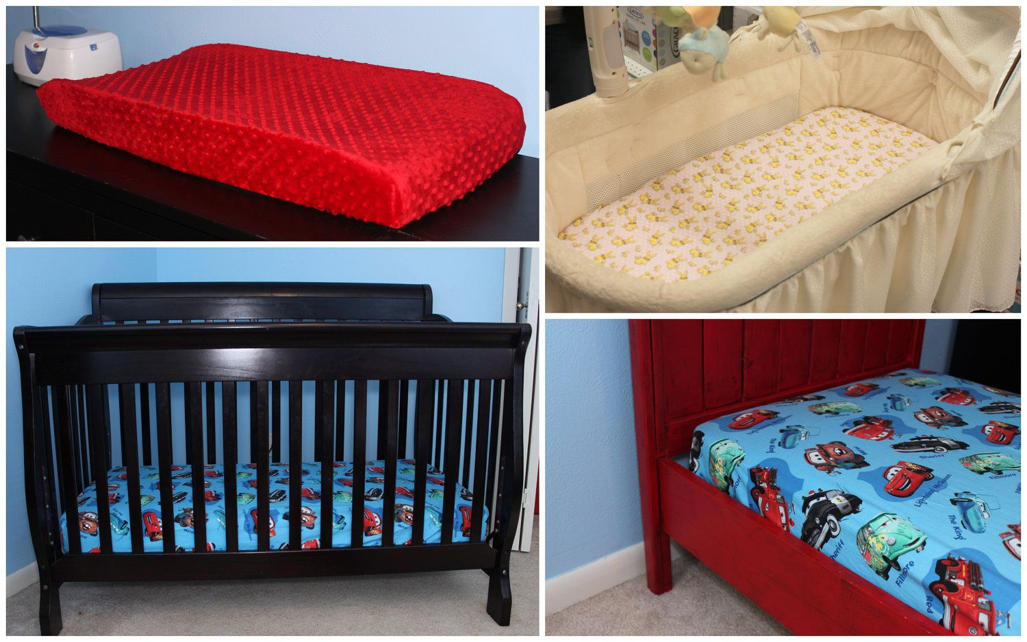 Sheet Pattern for crib, toddler bed, and changing