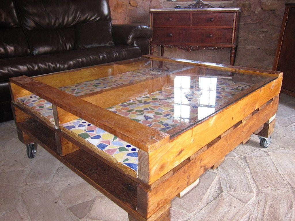 Como Fabricar Muebles Con Palets Bricolaje Muebles Con Palets  # Muebles Con Paletas De Madera