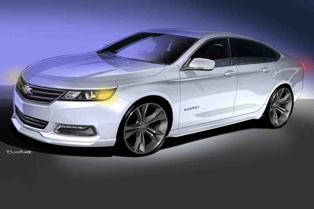 2016 Chevrolet Impala Ss The Chevy Will Come With Three Super Car Models Such As 430 530 And Also 620