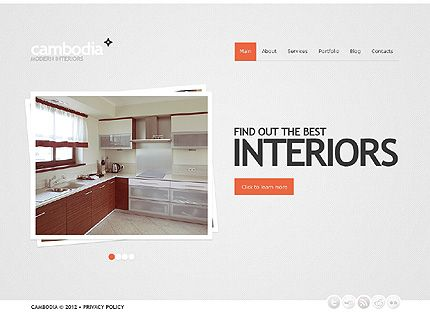 Interior Design WordPress Theme | Wordpress and Template