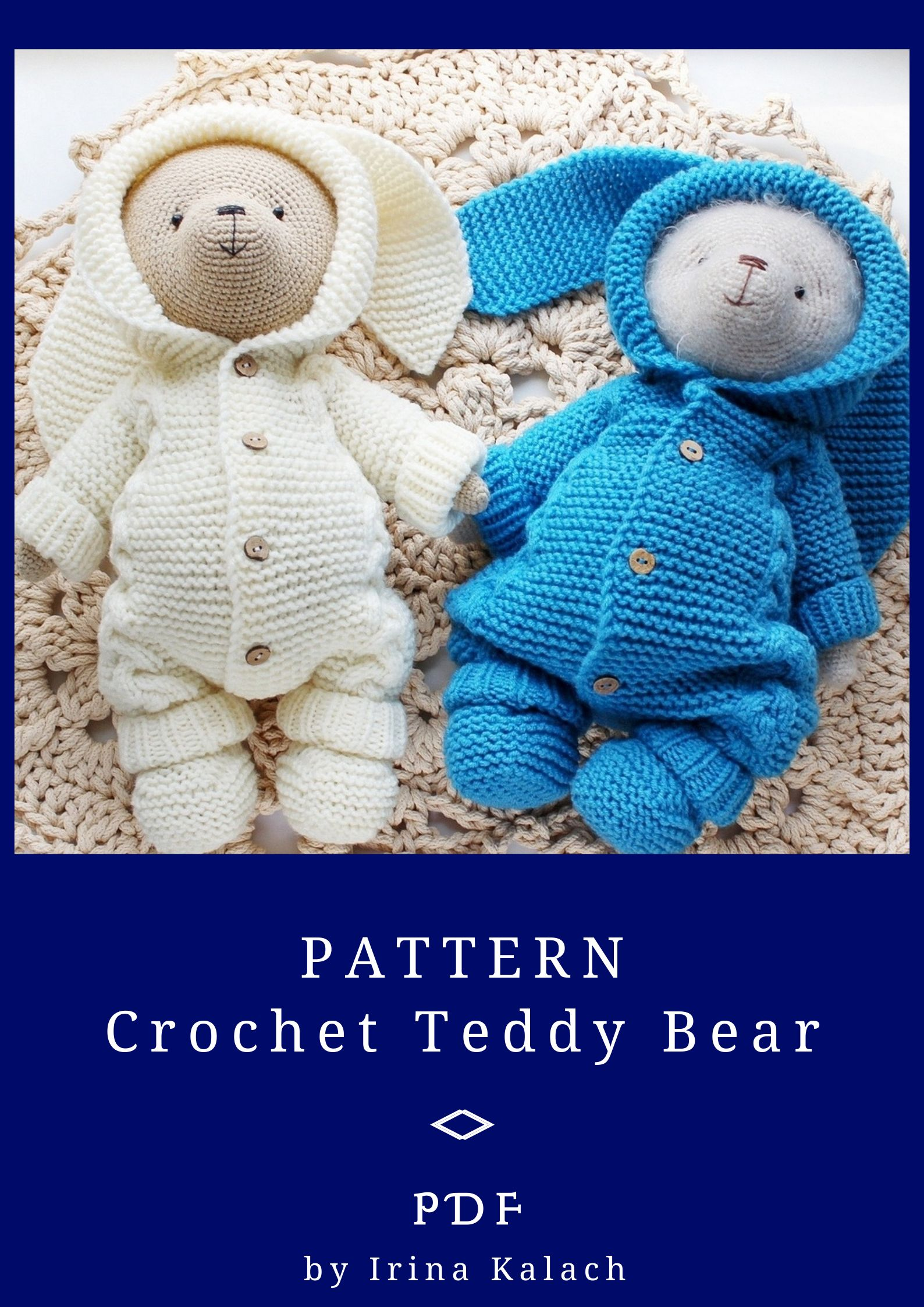 Bear Crochet 45de7fa5ad49f2 | Crochet bear patterns, Crochet teddy ... | 2246x1588