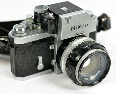 Details about Vintage 1969 NIKON F 35mm Camera w/Accs & 50mm