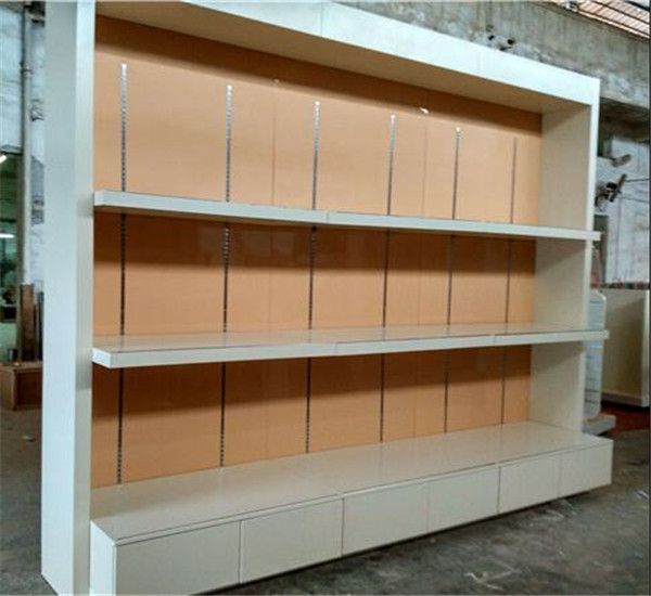 Retail Shop Furniture Tall Wall Mounted Commercial Display