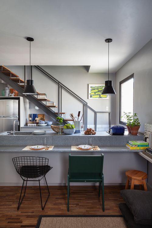 granito cinza andorinha levigado | cozinha em 2019 ...