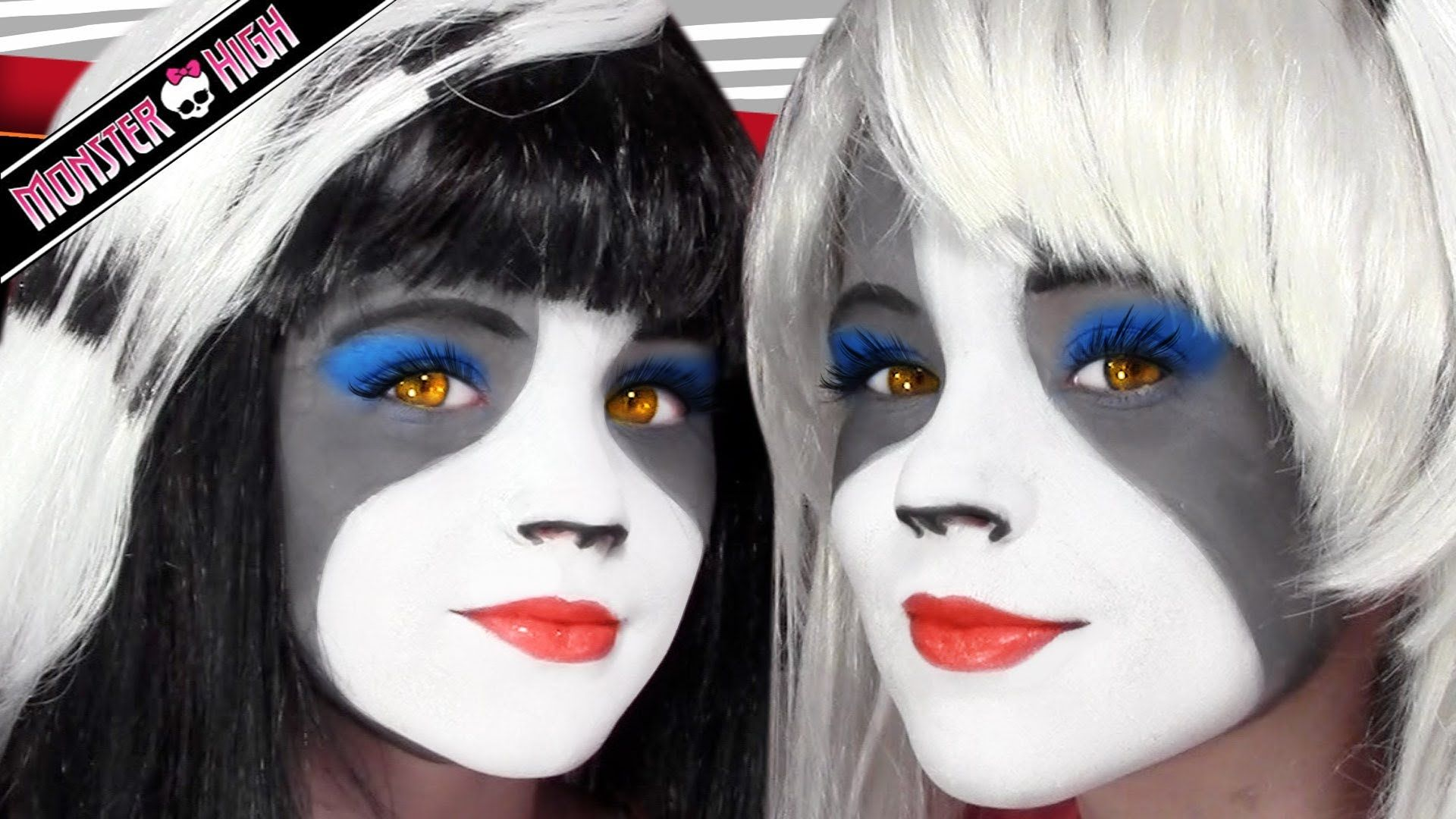 Makeup tutorials for kids monster high images any tutorial examples the werecat sisters monster high doll costume makeup tutorial for the werecat sisters monster high doll baditri Images