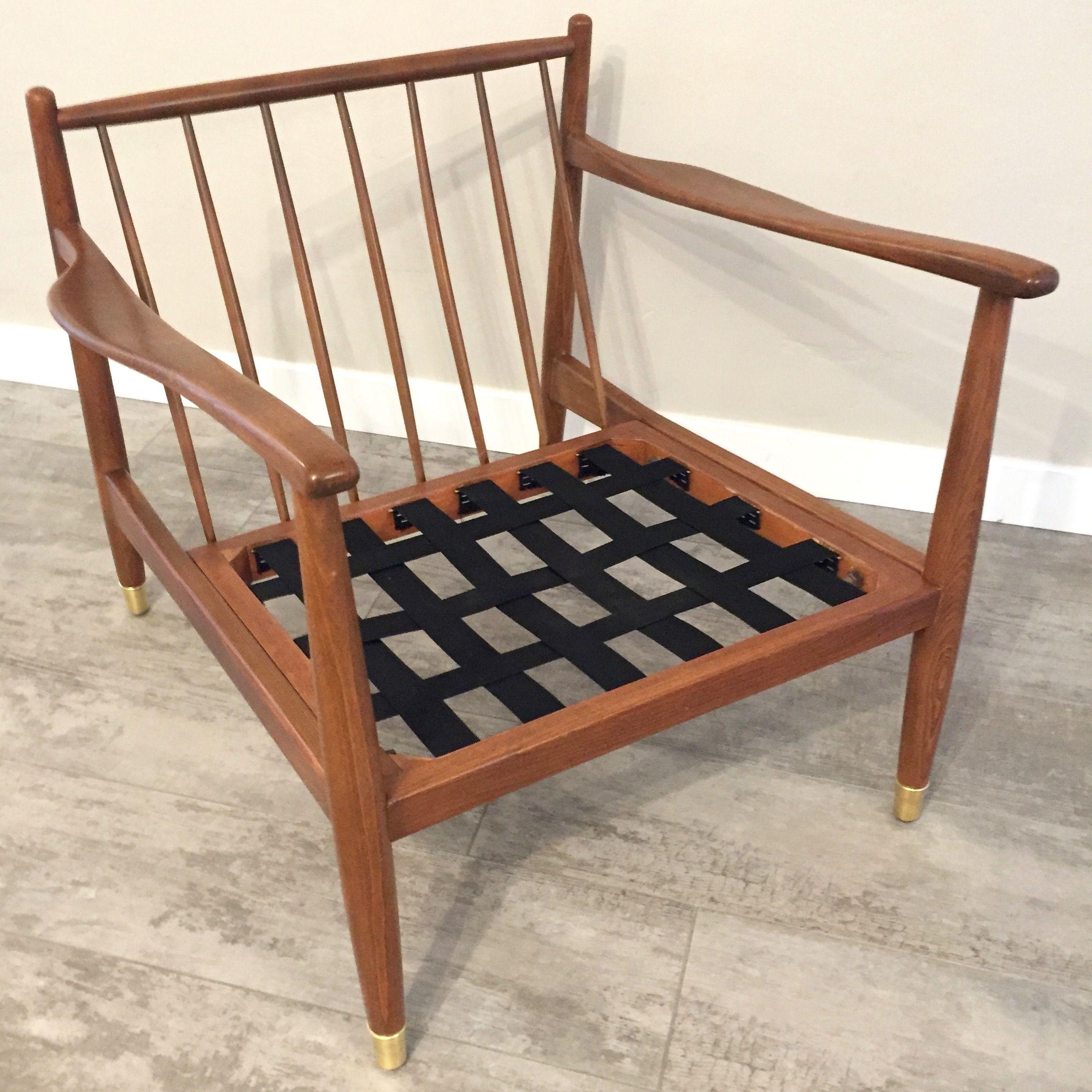 Mid Century Modern Dux Lounge Chair Frame Chair Lounge Chair