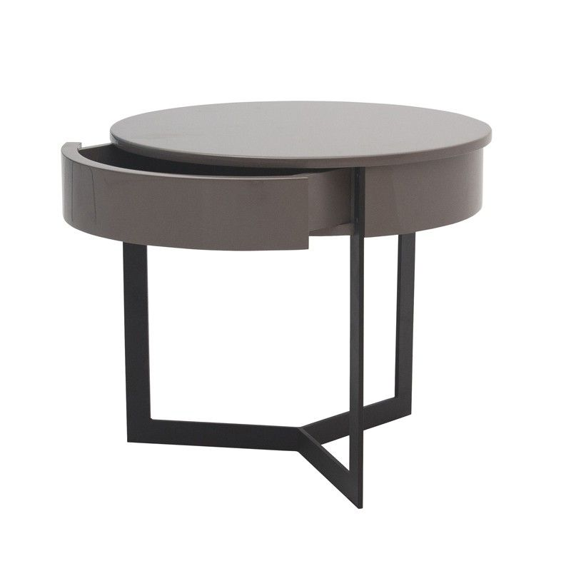 modern round bedside table - Google Search