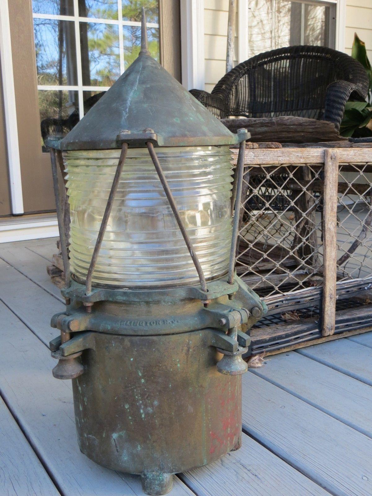 Antique Perko Navigation Lights Marine