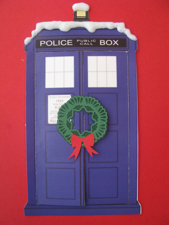 Doctor Who Christmas Cards.Doctor Who Tardis Christmas Card 4 00 Via Etsy I 3 Doctor Who