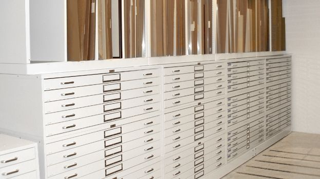Flat Storage Files Cabinets Drawer